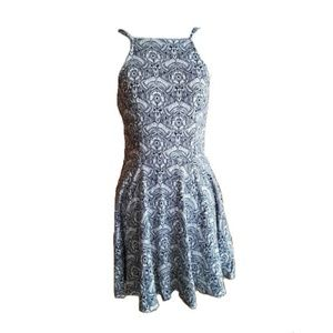 Abercrombie & Fitch Floral Fit & Flare Dress XS